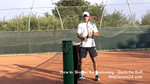 quick fix big backswing groundstrokes