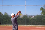 how to avoid missing tennis serves deep