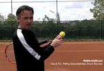 how to control tennis ground strokes direction