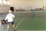 video tennis drill - attacking low and high