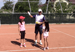 fun tennis game for speed and footwork - dirty hankie