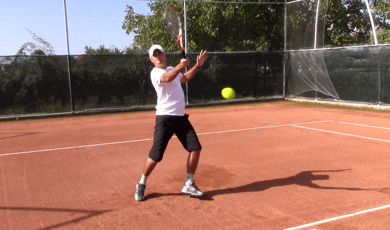 aggressive tennis