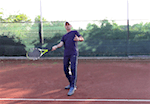 tennis tip - how to anticipate the lob