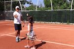 video tennis tip for coaches - how to connect with new students