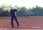 how to return a fast tennis serve