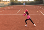 video tennis drill - quick recovery