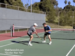 footwork tennis drills - speed, conditioning