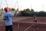 fun tennis game for kids - red light green light