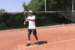 tennis tip - best uses of non-dominant arm in tennis