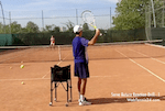 video tennis drill - serve return reaction 1