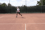 video tennis speed drill - spider web
