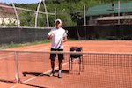video tennis tip - footwork for beginning players