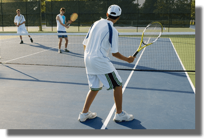 creative drills and games for three tennis players