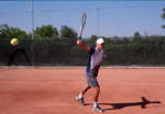 one handed backhand technique progression tennis lesson