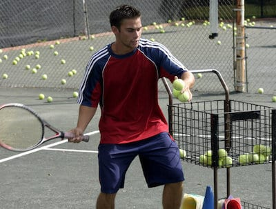 coach tennis drills