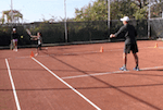 video tennis drill - quick change of direction