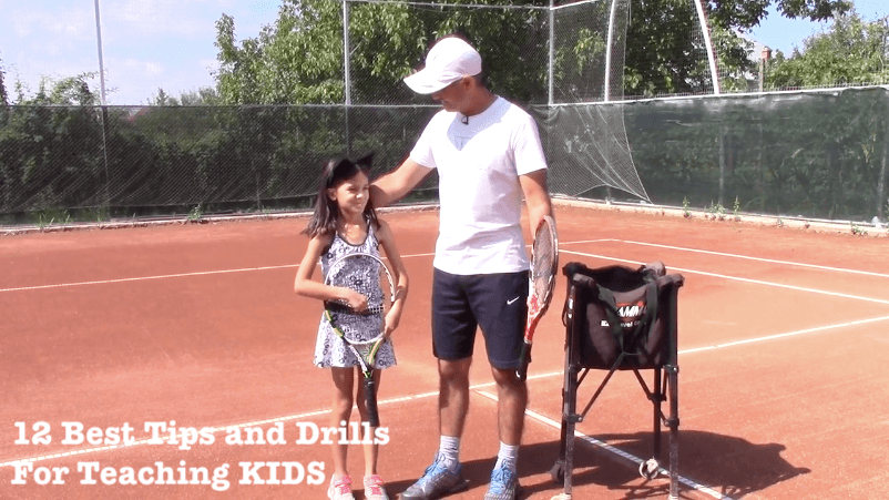 some of the best tennis drills and tips to teach kids