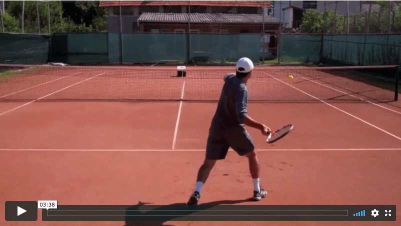 video tennis tip - how to put away the short ball