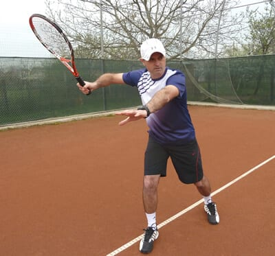 forehand tennis tips