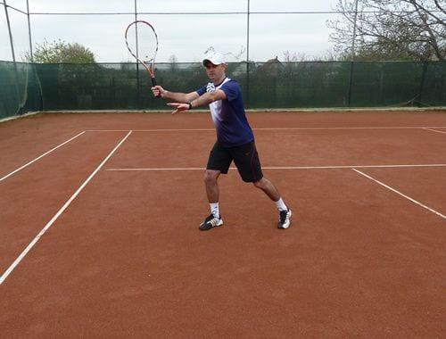 volley tennis tips