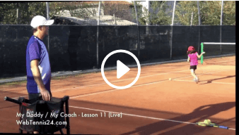 eleventh my daddy / my coach live tennis lesson