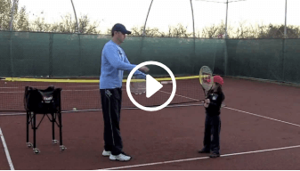 second my daddy / my coach live tennis lesson