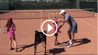 sixth my daddy / my coach live tennis lesson