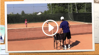 seventh my daddy / my coach live tennis lesson