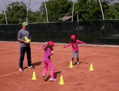 kids tennis drills