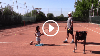 thirty-seventh my daddy / my coach live tennis lesson