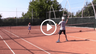 thirty-eighth my daddy / my coach live tennis lesson