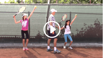 fortieth my daddy / my coach live tennis lesson