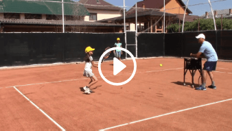 forty-first my daddy / my coach live tennis lesson