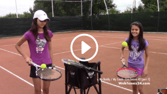forty-second my daddy / my coach live tennis lesson
