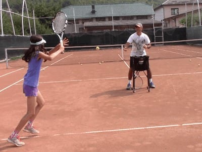video tennis drills for players