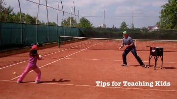 video tennis tips for teaching kids