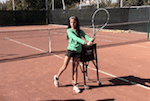 video tennis tip - shorten ground-strokes backswing