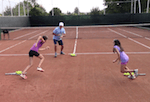 fun tennis drills - thieves