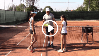 forty-fourth my daddy / my coach live tennis lesson