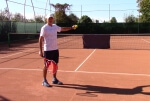 how to tennis video - avoid hitting forehand ground-strokes into net