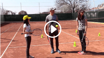 forty-third my daddy / my coach live tennis lesson