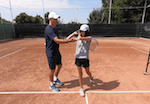 how to relax the arms for tennis