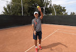 tennis tip - low toss vs high toss