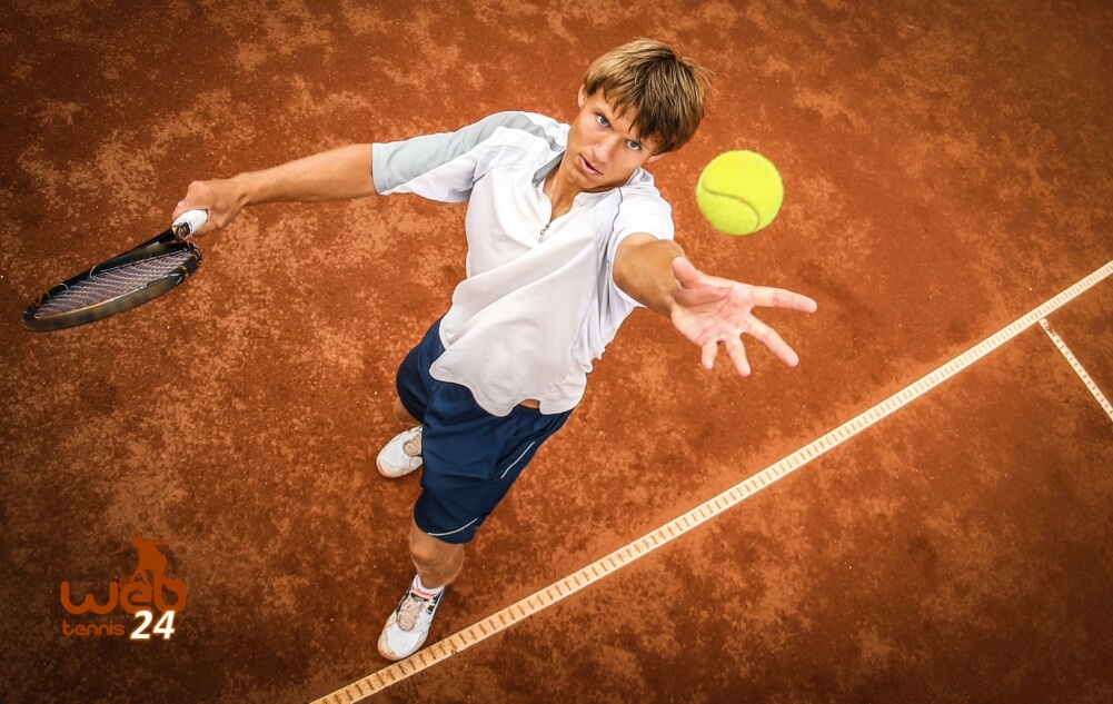 how to serve under pressure in tennis