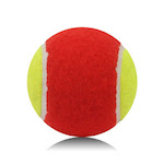 tennis ball for red level kids play