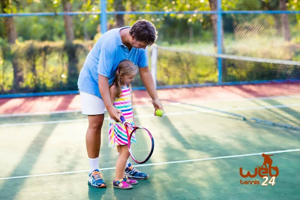 tips for teaching kids tennis