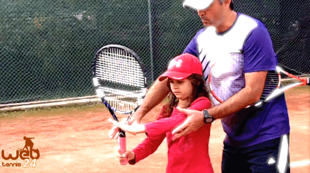 first tennis lesson tips