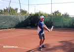 tennis lesson - switch one-handed to two-handed backhand