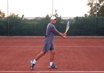 tennis lesson - two-handed backhand