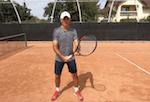 tennis tip - non-dominant grip on backhand groundstroke